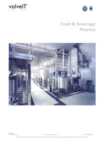 valveIT Beverage Application