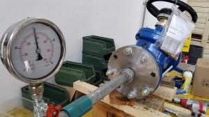 Test @20bar PRV valve