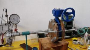 Test butterfly valve @30 bar