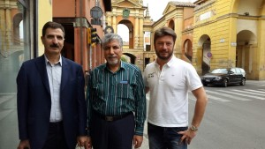 News - Mr Mirzaei and Mr Dorvash in Bologna