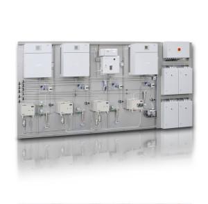 Miyaneh DRI plant gas analyzer system.