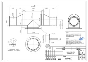 Piping - Production drawing