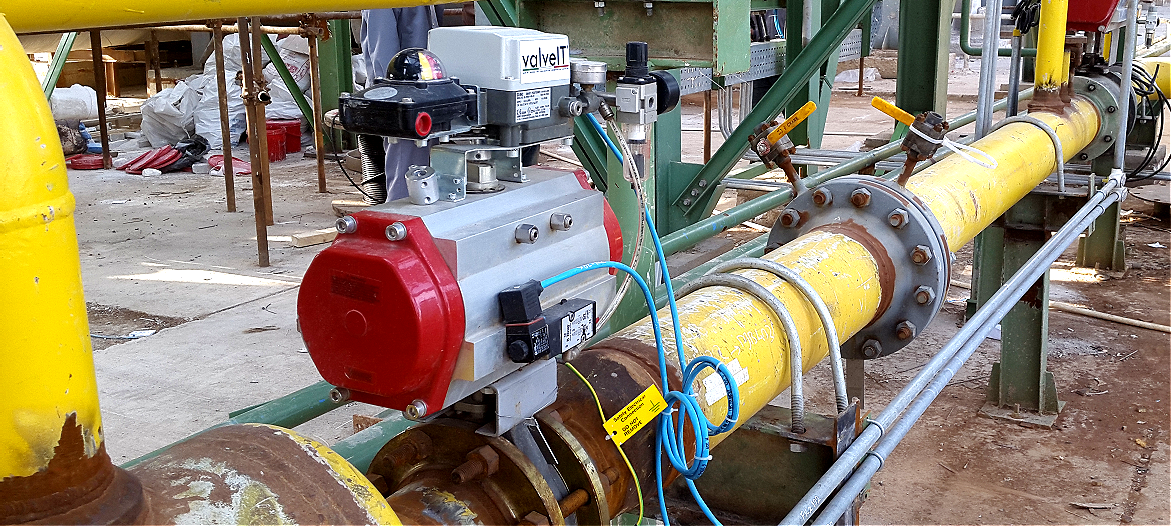 CONTROL DOUBLE OFFSET BUTTERFLY VALVE