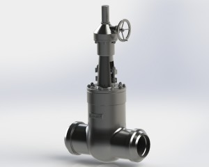 News - Gate valve DN450 BW rating 1500 psi.