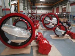 News - CHBK control valve under packaging.